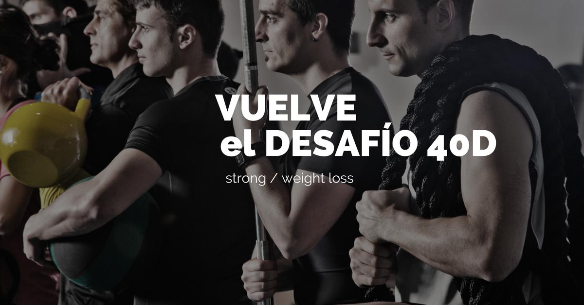 entrenamiento 40 días