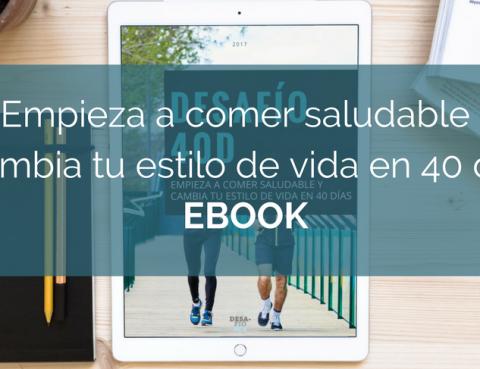 Ebook Gratuito Desafío 40D