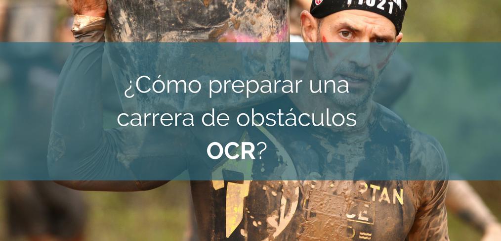 Como preparar una carrera de Obstáculos