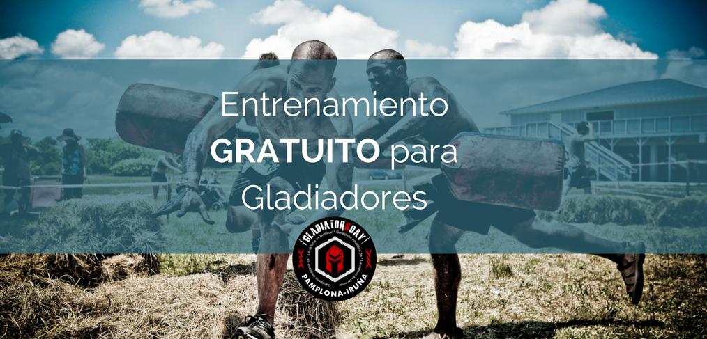 entrenamiento gratuito pre gladiators day